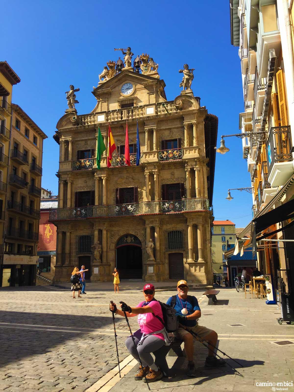 Plaza Consistorial de Pamplona