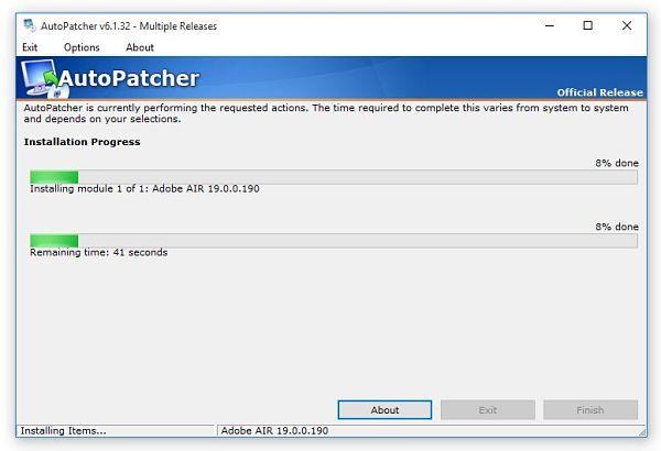 AutoPatcher: herramienta para Actualizar Windows Offline