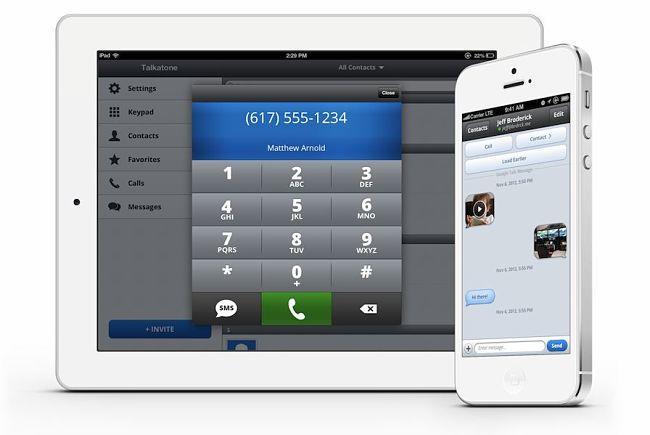 Talkatone: hacer llamadas gratis con WiFi