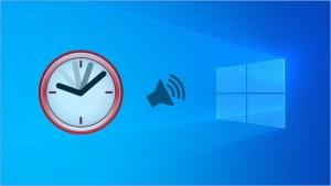 Cómo hacer que Windows 10 te diga la hora cada 60 minutos