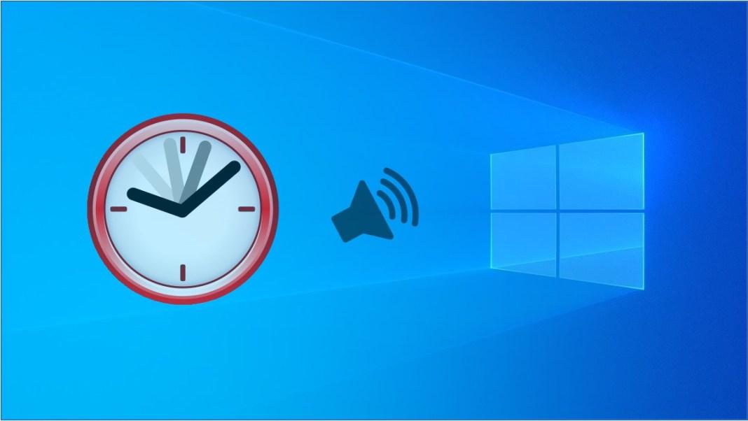 Hacer que Windows 10 diga la hora cada 60 minutos.
