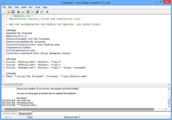 Inno Setup, utilidades para crear instaladores o paquetes de instalación