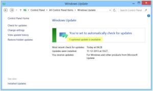 Descargar Windows Update manualmente en Windows 8 | 7