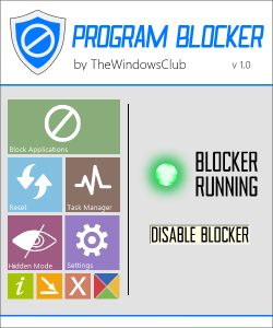 Program Bloker: Bloqueador de Aplicación en Windows