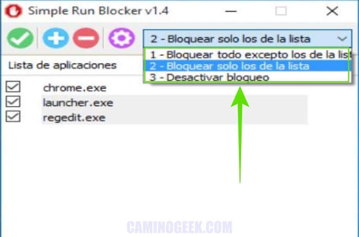 Cómo bloquear aplicaciones en Windows con Simple Run Blocker