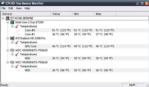 HWMonitor: herramienta especializada para ver las especificaciones de una PC a profundidad