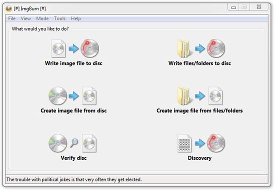 ImgBurn: uno de los mejores programas para quemar discos Blu-ray en Windows gratis
