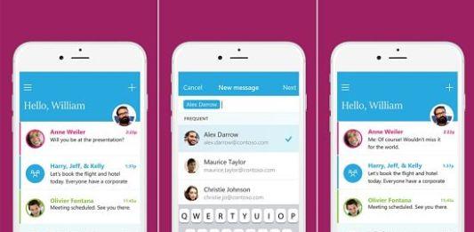 Microsoft Send para correo electronico tipo mensajeria instantanea