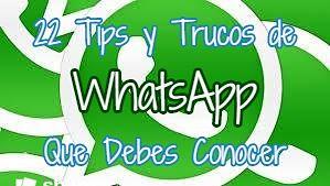 Tips y trucos de WhatsApp