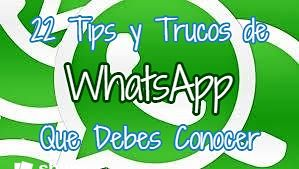 Tips y trucos de WhatsApp
