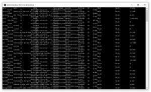 Obtener lista de controladores de dispositivo instalados en Windows con Símbolo del sistema