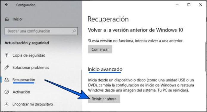 Cómo iniciar en Modo seguro de Windows 10