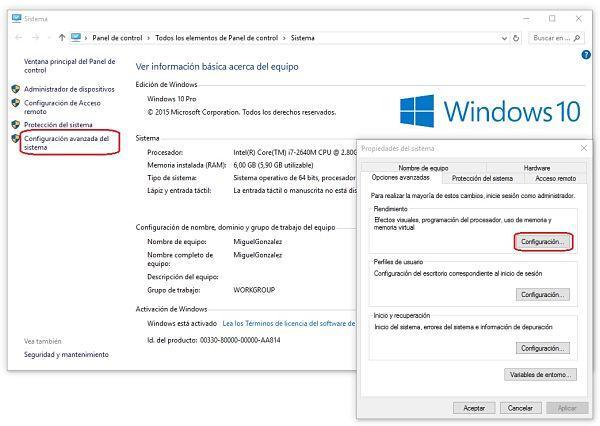 Acelerar inicio de Windows 10