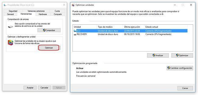 Acelerar el inicio de Windows 10