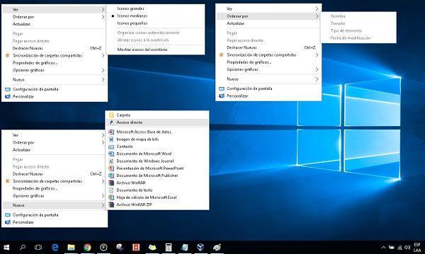 Qué es un menú contextual en Windows y para qué sirve