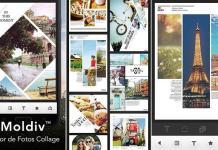 Moldiv para hacer collage de fotos