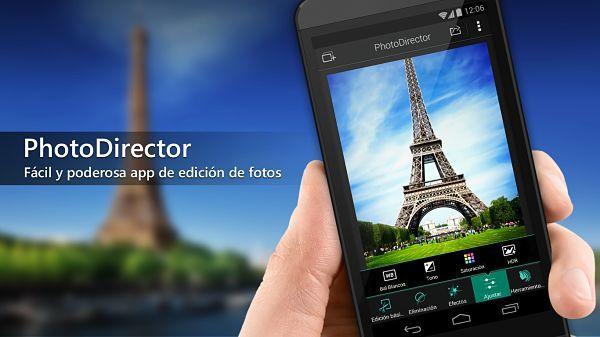 PhotoDirector - Aplicaciones para editar fotos en Android