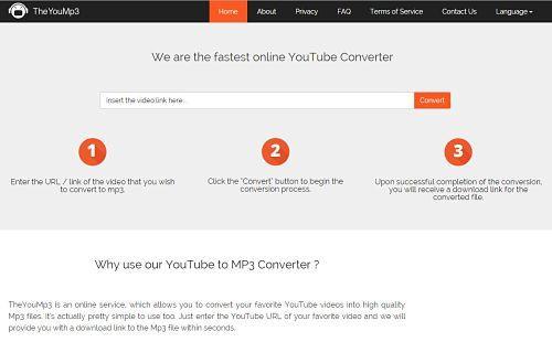 TheYouMp3: Uno de los mejores sitios para descargar música MP3 gratis desde YouTube