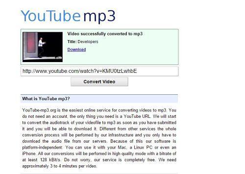 YouTubemp3: Uno de los mejores sitios para descargar música MP3 gratis desde YouTube