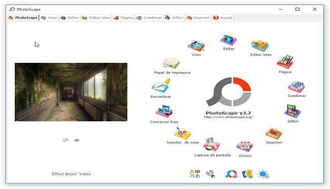 PhotoScape: Alternativas a Picasa