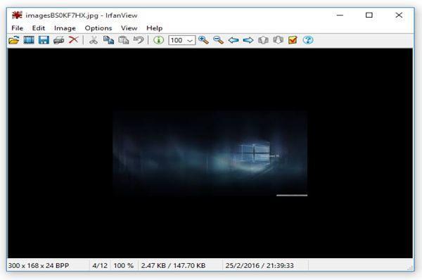 IrfanView: abrir archivos PSD sin necesidad de Photoshop