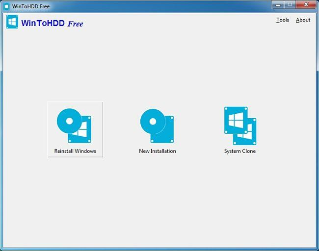 WinToHDD: Instalar Windows sin utilizar DVD ni unidad USB