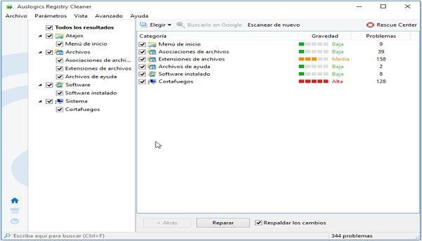Auslogics Registry Cleaner: Uno de los mejores limpiadores de registro para Windows
