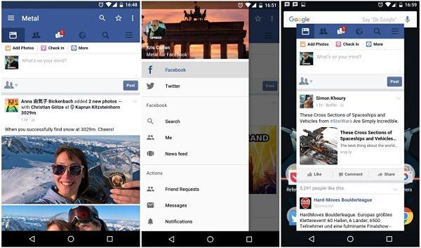 Metal for Facebook: una de las mejores alternativas a Facebook Messenger