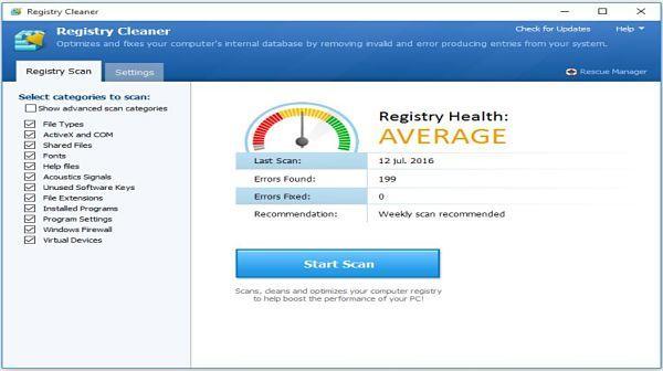 Pointstone Registry Cleaner: Uno de los mejores limpiadores de registro para Windows