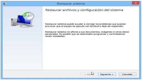 Cómo restaurar Windows 8.1