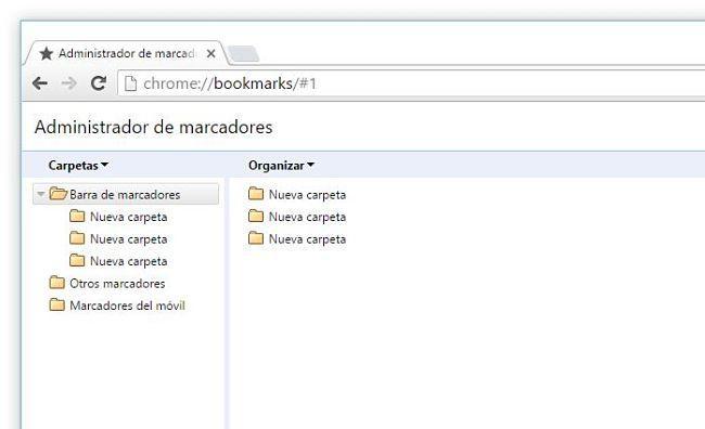 Sincronizar marcadores de Chrome desde el móvil a la PC o Mac