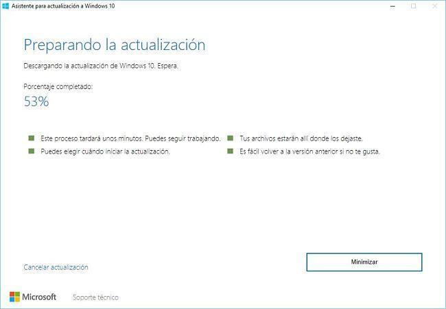 Instalar actualización aniversario de Windows 10)