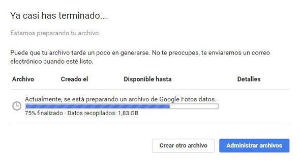 Cómo descargar todas tus imágenes y videos en Google Fotos