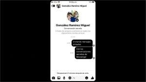 Cómo enviar mensajes que se autodestruyen con conversaciones secretas en Messenger