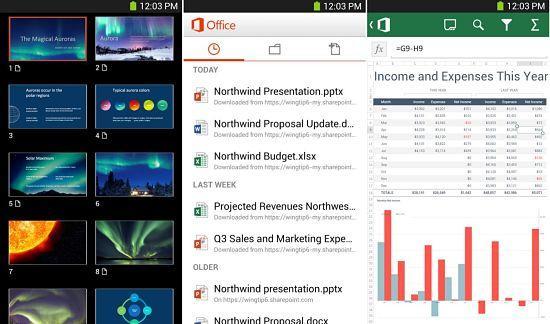 Por supuesto que MS Office no podía quedarse sin estar entre las mejores aplicaciones ofimáticas para Android