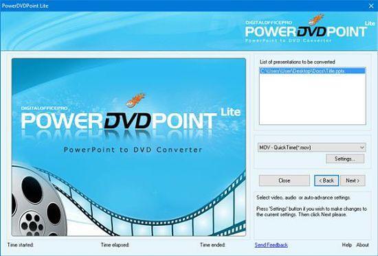 Convertir presentaciones de Power Point a video
