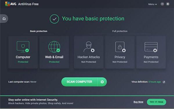 Mejores antivirus gratis para 2018