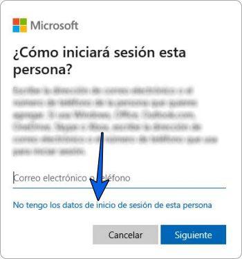 Crear usuario Windows 10