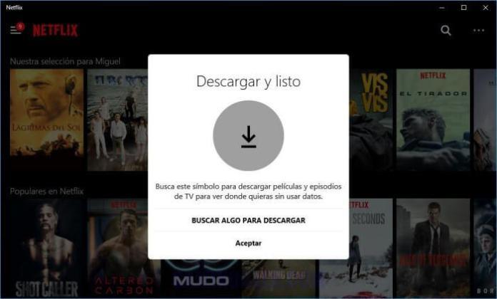 Cómo descargar películas y series para ver Netflix sin Internet