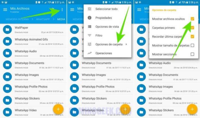 Cómo guardar estados de WhatsApp de otra persona