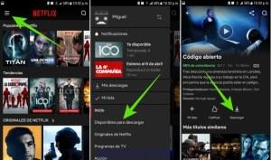 Cómo usar Netflix sin Internet: descargar películas y series para ver sin conexión