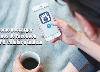 Cómo descargar videos de Facebook