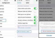 Cómo borrar el historial de navegación en iPhone