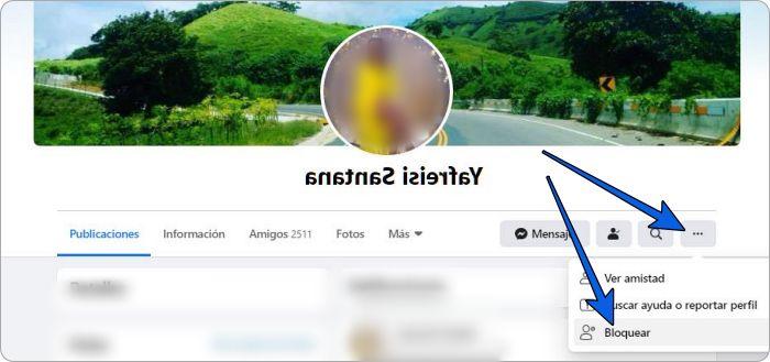 Cómo bloquear a una persona en Facebook