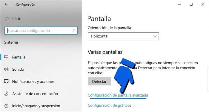 Cómo saber qué modelo de monitor tengo en Windows 10