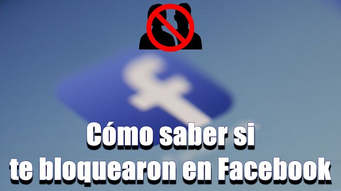 te bloquearon en Facebook