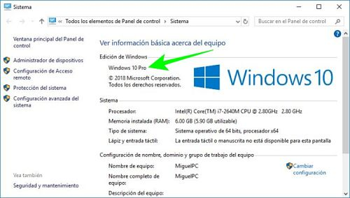 Cómo saber qué Windows tengo