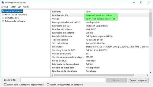 Cómo saber que versión de Windows tengo.