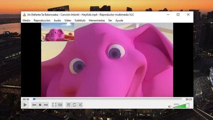 Hacer zoom a un video en VLC mientras se reproduce