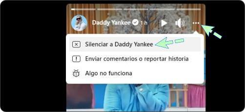 Cómo silenciar historias de Facebook en la computadora